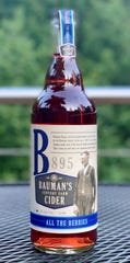 Bauman's All the Berries Cider featured fruit grown on the family's century farm.