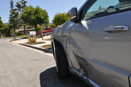 On Wednesday afternoon, Ruth Vea was still waiting for her insurer to do an inspection of her 2017 Dodge Durango, apparently hit when the man shot by CHP sped through the neighborhood. July 24, 2019.