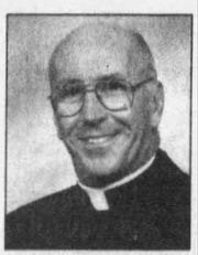 This photo of Reverend William J. Porter ran in a September 2003 edition of The Daily Times when he was named pastor of Holy Name of Jesus in Pocomoke City.