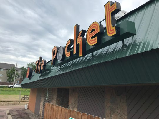 The Pocket, which closed earlier this month, is being redeveloped as a retail center at 301 S Thompson Ave.