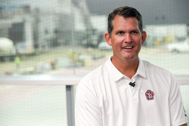 South Dakota athletic director David Herbster
