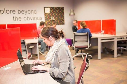 Inside the Zeal Center for Entrepreneurship in Sioux Falls.