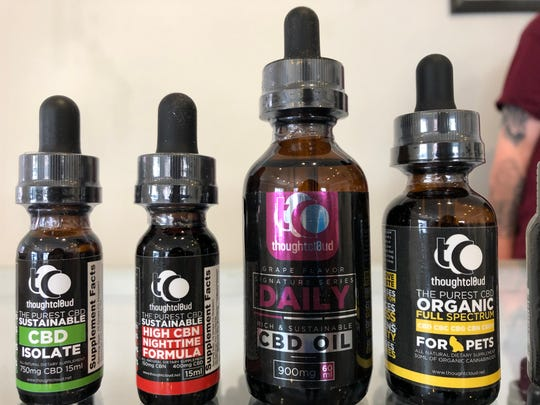 A new CBD store has opened in downtown Staunton on the corner of New and East Beverley streets. It offers hemp-based CBD oil, hemp products and more.