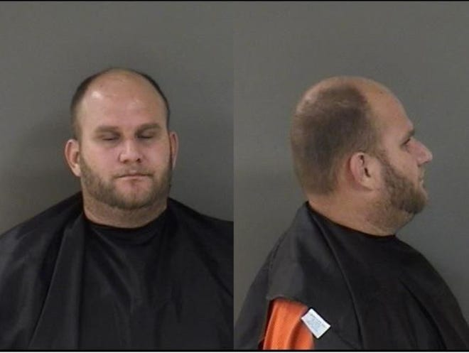 Brandon Reece Rancourt, 35, was arrested Wednesday on four drug related charges.