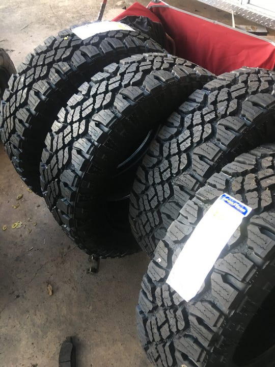 The Indian River County Sheriff's Office recovered several tires in its investigation of former Fire Rescue Assistant Chief Brian Burkeen. In 2018, detectives charged him with grand theft related to county money being spent on tires not for emergency vehicles.