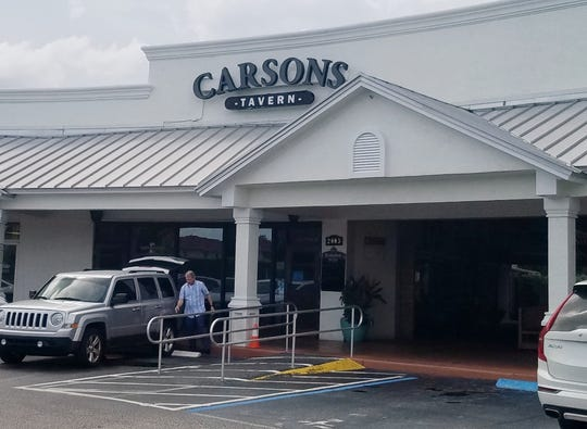 Carsons Tavern is in the ReMax Plaza, 2883 S.E. Ocean Blvd,Stuart.