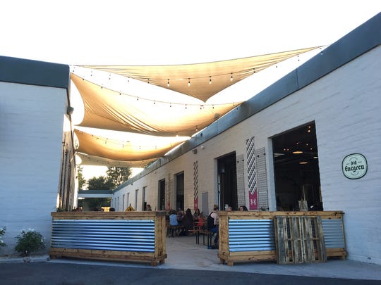 The new biergarten space at Enegren Brewing Co. in Moorpark will be put to good use when the brewery marks its eighth anniversary with food trucks, live music and a hammerzeit tournament on Aug. 3.