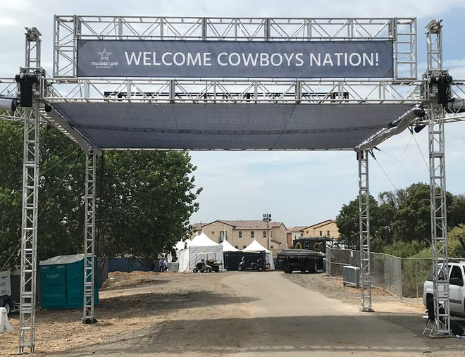 After skipping last summer because of the pandemic, the Cowboys will return to Oxnard on July 20.