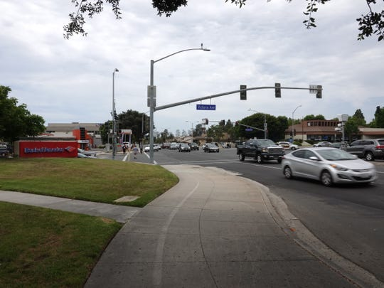 The intersection of Victoria Avenue and Telephone Road in Ventura.