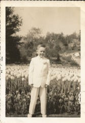 John Keating celebrated his first Communion in the gardens at Patricia Murphy's Candlelight Restaurant in Yonkers.