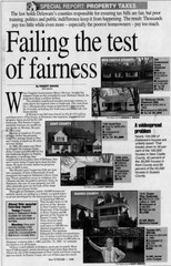 April 5, 1995 article on property taxes.