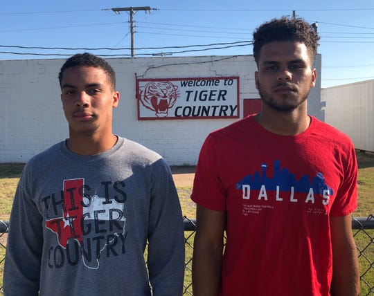 Electra's Jailen Dixon (left) and Noah Caldwell (right) are excited to lead the Tigers in Ryan Quillen's first season as head coach.