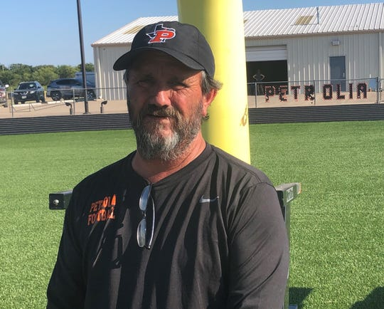 Mitch McLemore is excited about leading a rebuilding effort at Petrolia after the Pirates couldn't even finish the 2018 season.