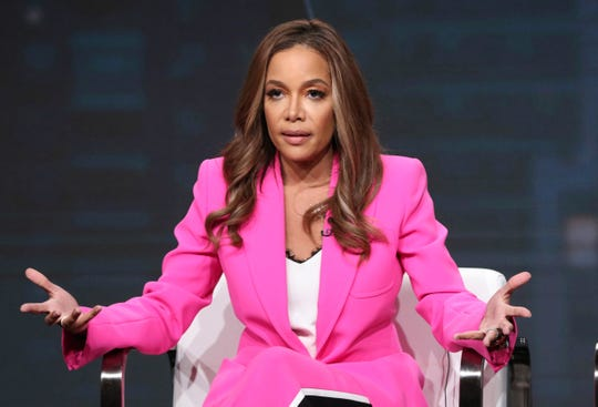 'The View' co-host Sunny Hostin talks about her new Investigation Discovery series, 'Truth About Murder with Sunny Hostin,' at the Television Critics Association summer press tour Thursday.