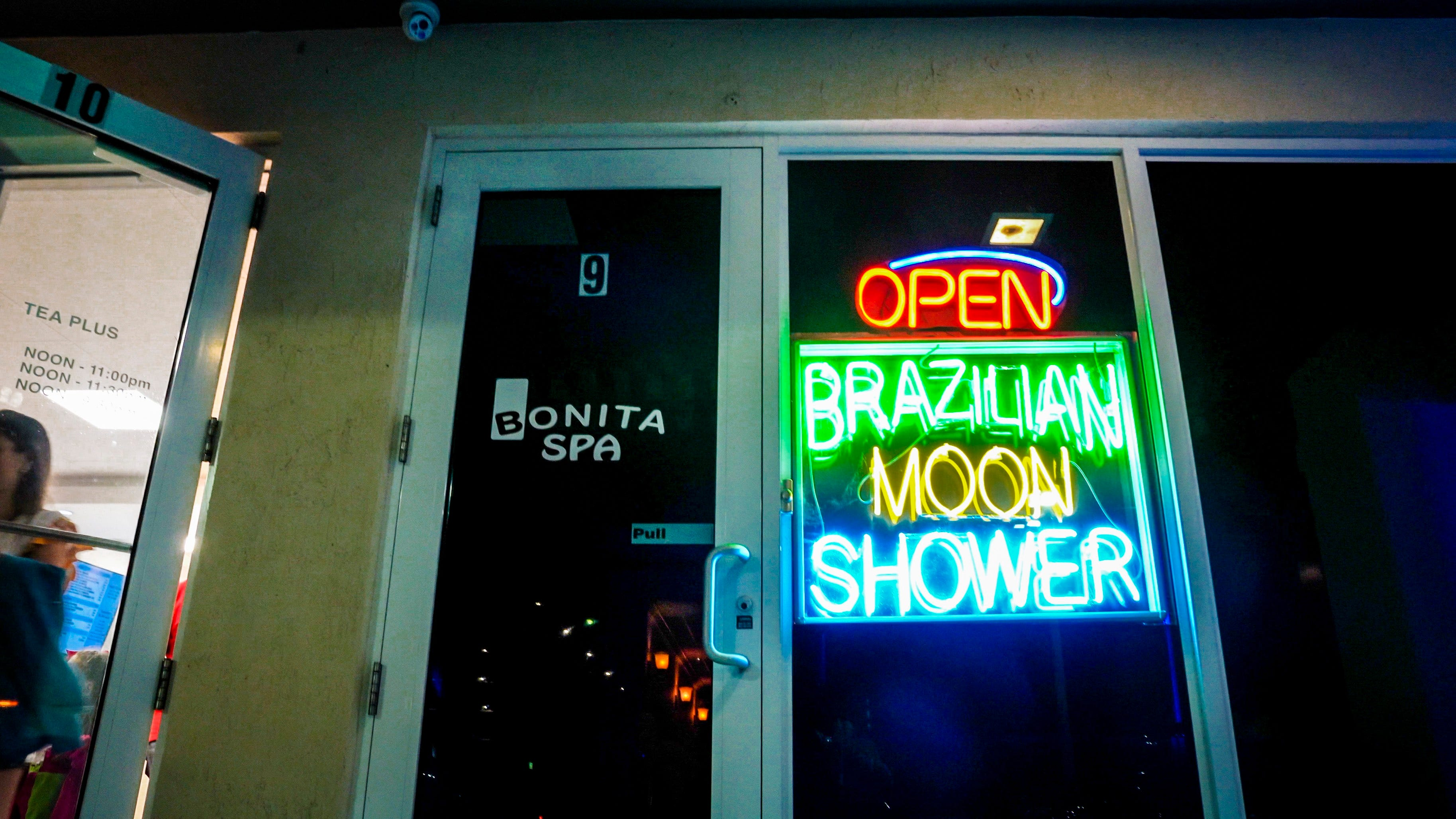 Hollywood police raided Bonita Spa in 2016 and 2017 as part of Operation Red Light, and two women pleaded no contest to charges related to prostitution. The spa remained open when reporters visited this spring.