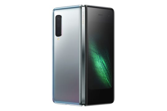 The new Samsung Galaxy Fold is expected to launch in September.