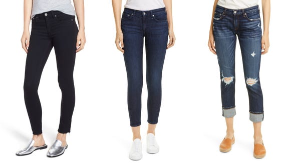 You can finally afford these trendy designer jeans.