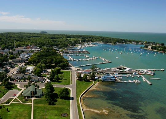 Put-in-Bay Island, Ohio, offers access to other islands in Lake Erie, many of which compose a new state water trail.