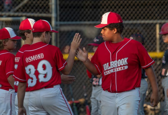 NJ Little League State tournament game between Holbrook and Swedesboro/Woolwich   in Sayreville, NJ