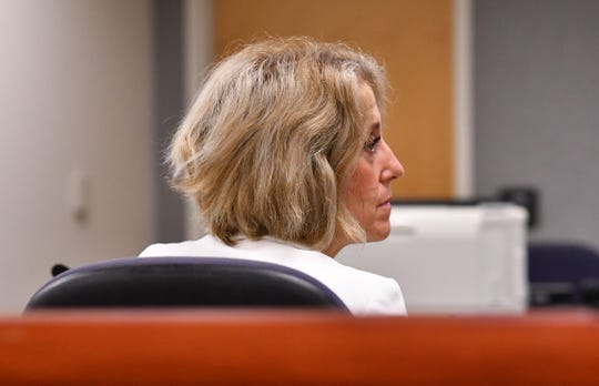 At a guardian hearing in Judge Lisa Davidson's courtroom at the Moore Justice Center in Viera, guardian Manda Wright replaced Rebecca Fierle for two Brevard residents as their guardian. Attorney Laura Sterling (in photo)  is the attorney for Manda Wright and Rebecca Fierle.