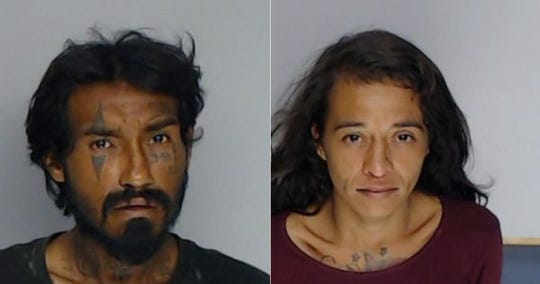 "George Padron and Mertallica Cantu were among the 28 people arrested during ""Operation Gang Busters"" on July 15 and 16."