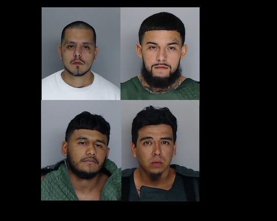Four men have been arrested on murder warrants in connection to the fatal shooting of an Alice woman on July 11, 2019.