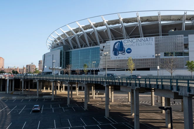 Paul Brown Stadium, home of the Cincinnati Bengals and host to a variety of events throughout the year, could be used to distribute COVID-19 vaccine, although officials say this week they're not planning to draft the venue yet.