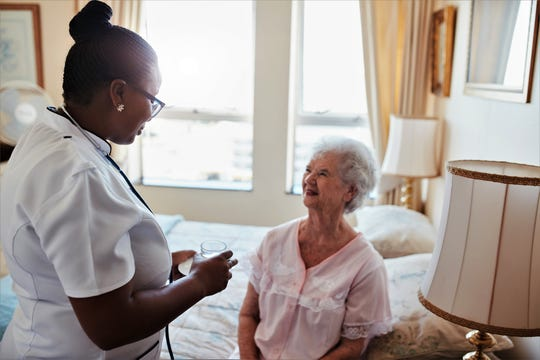 The staff at Hospice of Cincinnati find immense satisfaction and reward in their work.