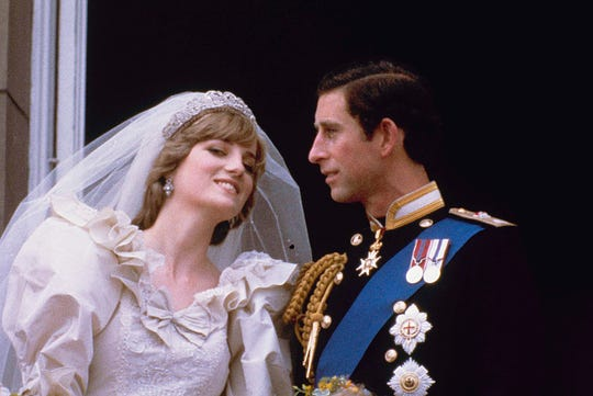 Diana And Charles Wedding.Today In History July 29 1981 Prince Charles And Princess