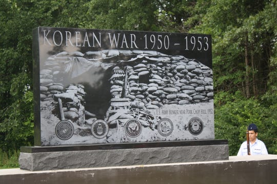 The Korean War Memorial at Miami Meadows Park in Miami Township was dedicated July 27, the 60th anniversary of the armistice that ended the Korean War.