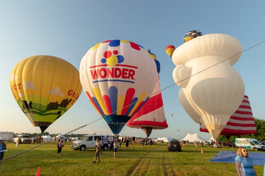 The New Jersey Festival of Ballooning may be grounded if a new title sponsor is not found.