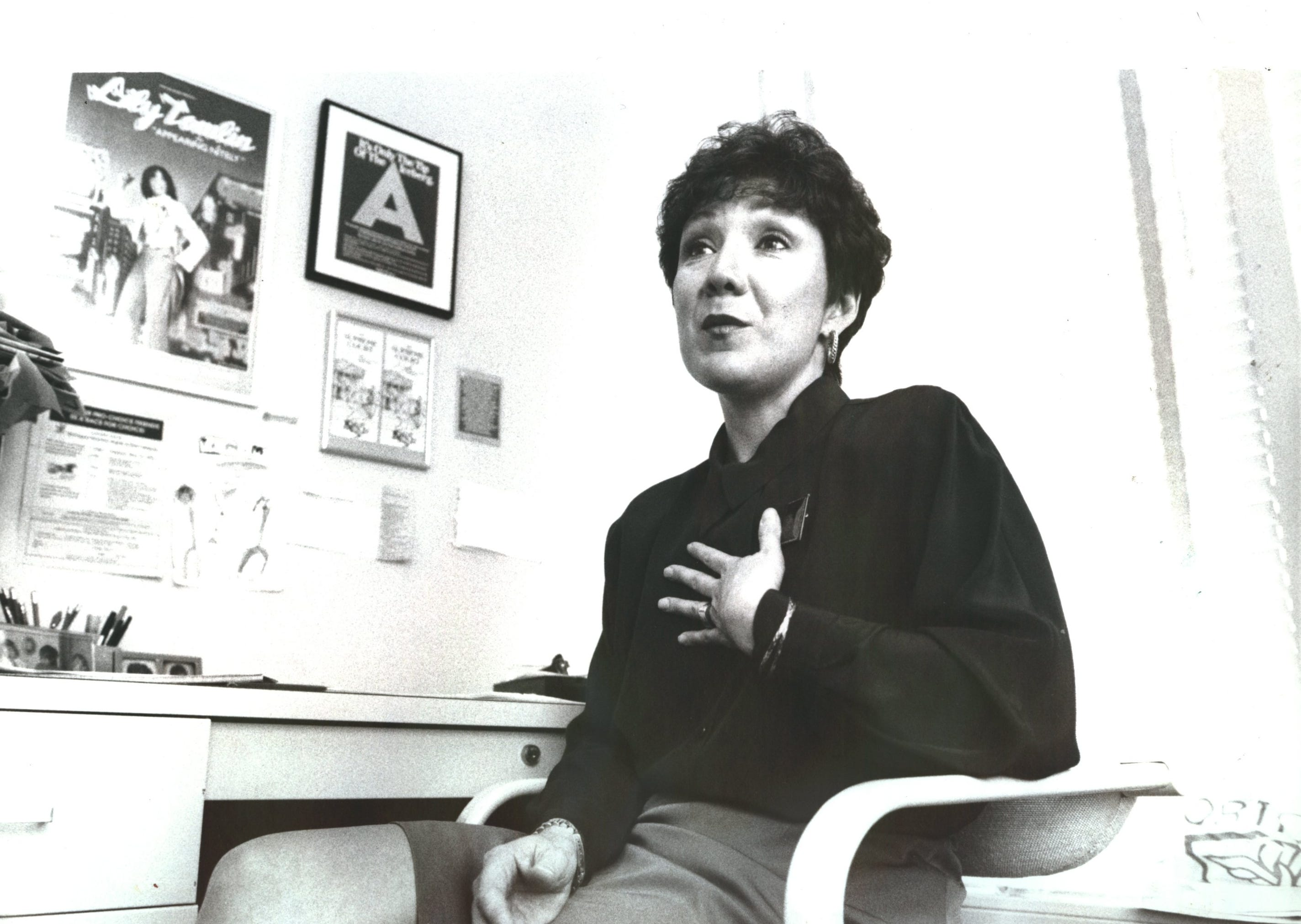 Renee Chelian at her Northland Family Planning Clinic in Detroit in 1992.