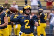 "ESPN's college David Pollack says he has ""legitimate concerns"" about Michigan quarterback Shea Patterson."