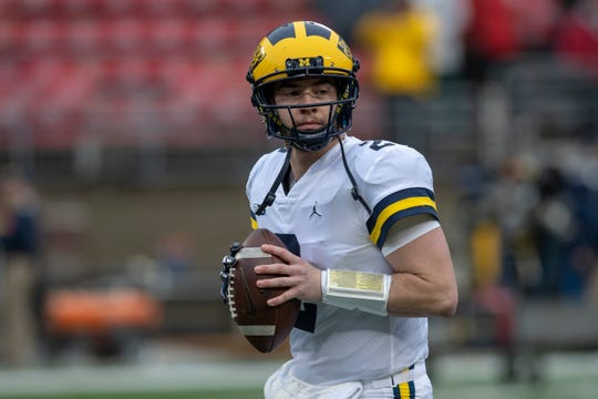 Shea Patterson is playing his best football of the season. He threw for 750 yards and nine touchdowns the last two games and earned Big Ten Offensive Player of the Week honors the last two weeks.