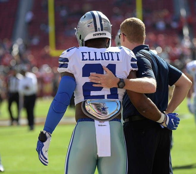 Ezekiel Elliott has contemplated not reporting to camp in hopes of forcing the Cowboys to address his wish for a contract extension.