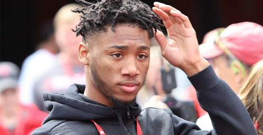 Sammy Anderson, a cornerback from Dayton (Ohio) Trotwood-Madison, is visiting Michigan State this weekend.