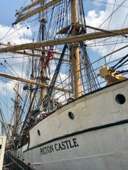 The Picton Castle is Fiji's home. It's one of nine ships featured at the Nicolet Bank Tall Ships festival that runs through Sunday at Leicht Memorial Park.