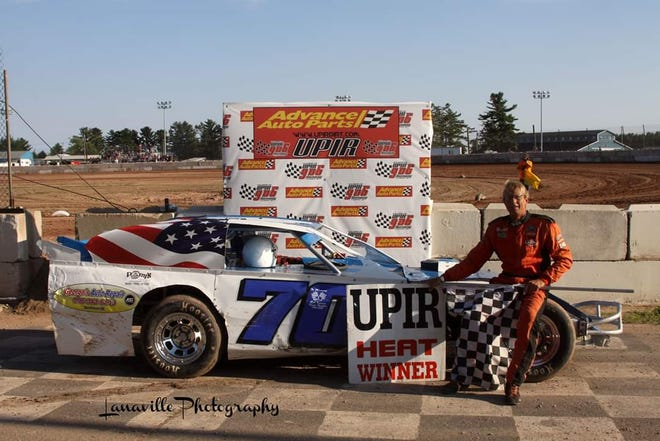 "Escanaba, Michigan's Jamie Iverson, a longtime Norway Speedway late model champion, will wheel a dirt sportmod for the first time ever at the paved third-mile at Norway on Aug. 2 during the ""Pavement Pounder"" race."