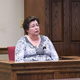 Joanne Shiflet speaks during a damages hearing against Todd Kohlhepp