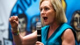Gillibrand calls out Democratic presidential candidates for saying 'the Me Too movement has gone too far'... while answering sexual assault question.