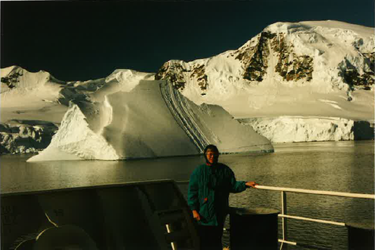 Helen Mundell, a journalist for the Ithaca Journal, visited Antarctica.