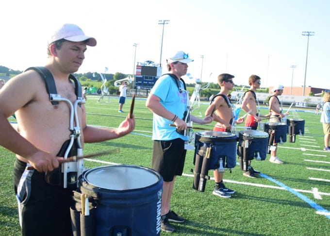 Hardin Valley Academy Marching Band Prepares For Upcoming