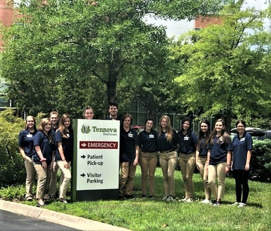 Based at Tennova Hospital in Turkey Creek, the inaugural class of M*A*S*H* 2019 took a field trip to Tennova in North Knoxville. The two-week program was held in July and was created to give high school students the opportunity to explore careers in healthcare.
