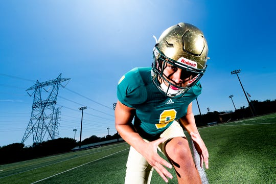 Catholic's Tyler Baron is No. 1 in the Knox News' Elite Eight, a collection of the top college football prospects in the Knoxville area.