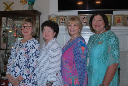 Kimberly Broussard, Debbie Guidry, Debbie Mills And Royalty Chairwoman Donna Olivier