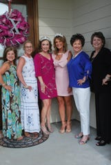 Tammy Sonnier, Historian Maxine Hollier, Cindy Self Muse, Denise Durel Muse, Barbara Richard and Lynette Sheffield