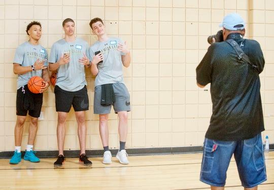 Josh Nickelberry, Samuell Williamson and Quinn Slazinski could be poised for solid freshman seasons.