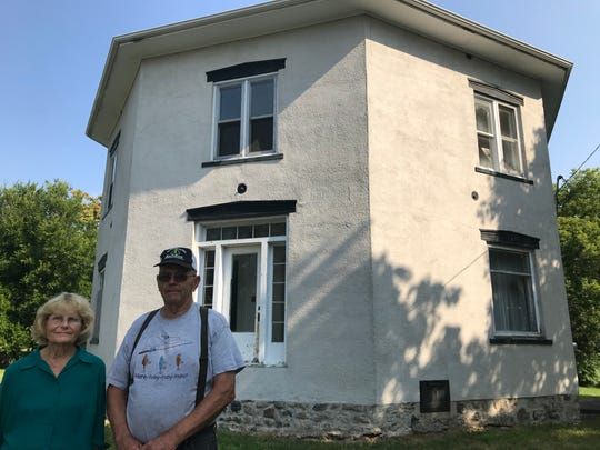 Diane and Marvin Swan have owned the octagon house in downtown Dansville since the 1970s. They bought it then, they said, to save mid-Michigan's last surviving eight-sided house from being torn down.