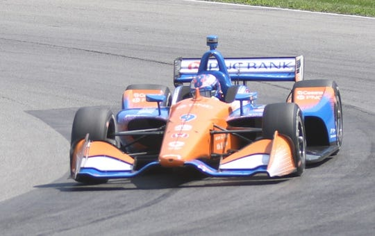 Scott Dixon of Chip Ganassi Racing took seventh during Friday's afternoon practice session.