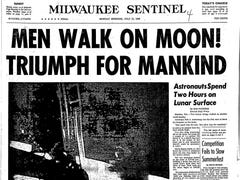 Stingl: While men walked on the moon, a local bank robber was doing a perp walk